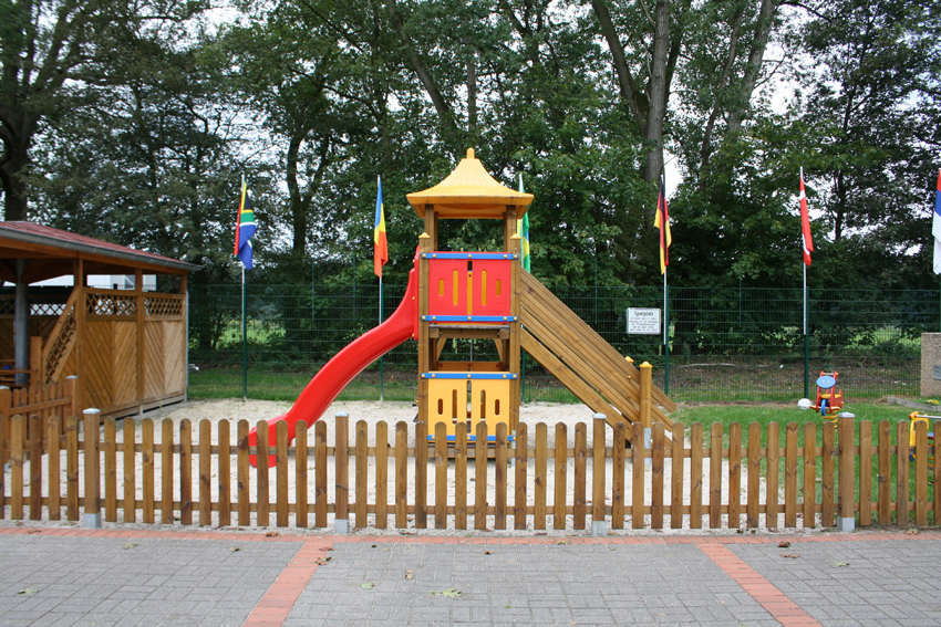 Spielstätte mit Spielplatz Biener Busch SV Holthausen Biene