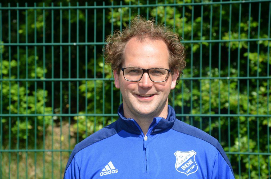 Altsenioren Abwehrspieler Peter Herbers