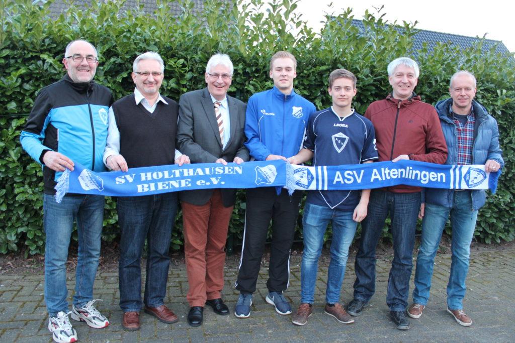 Zusammenarbeit im Jugendfußball ASV Altenlingen und SV Holthausen Biene