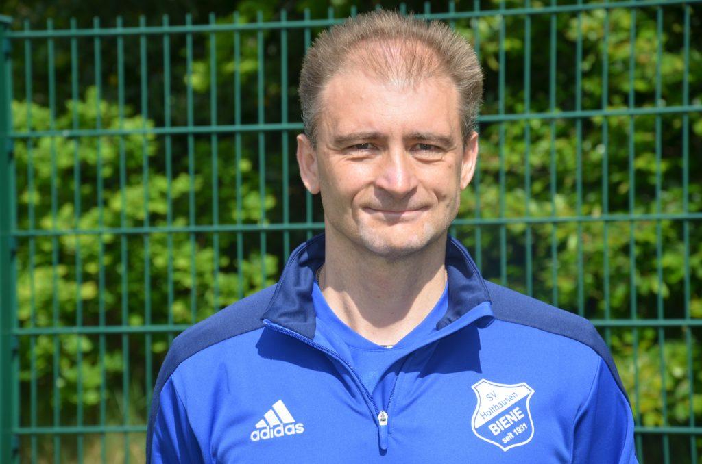 Altsenioren Mittelfeldspieler Michael Bolk