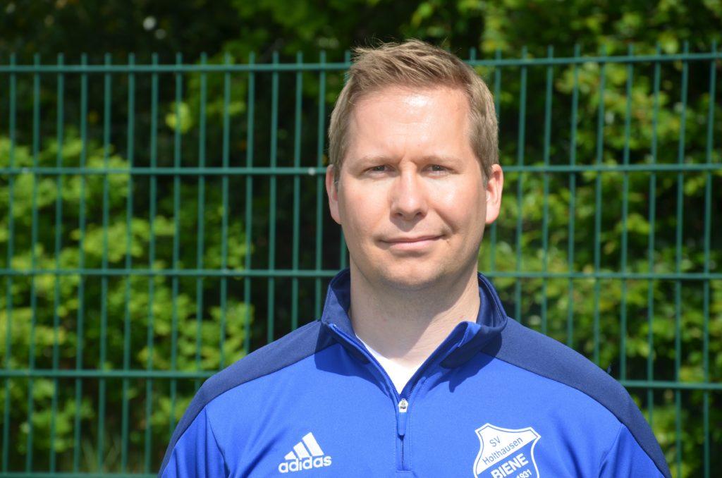 Altsenioren Mittelfeldspieler Michael Holt