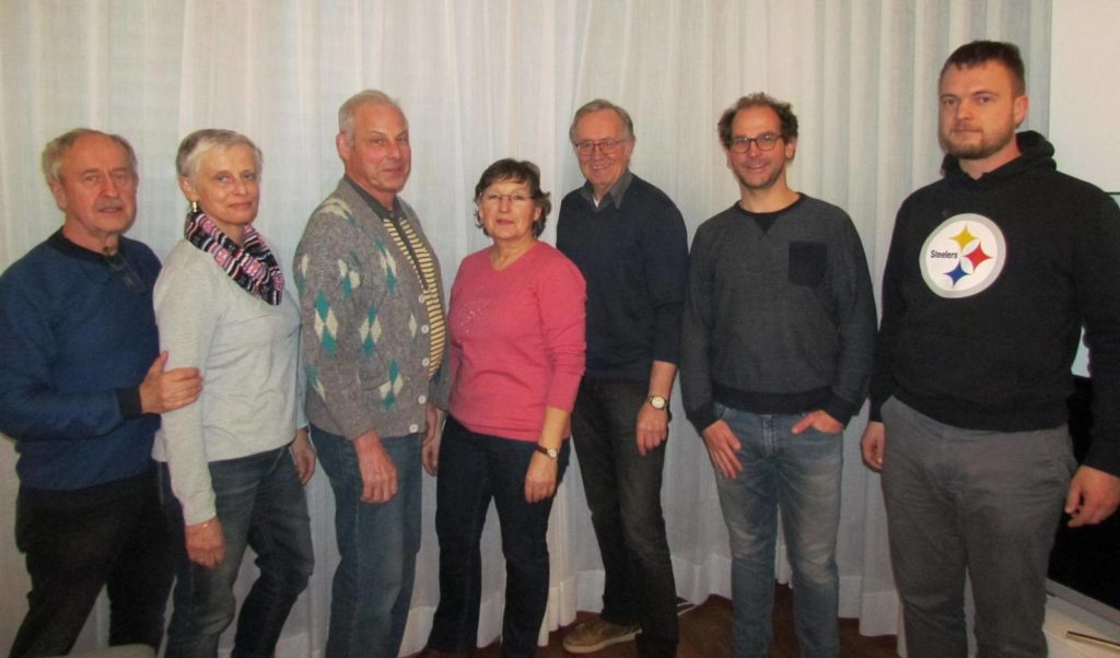 Tennis Vorstand des SV Holthausen-Biene