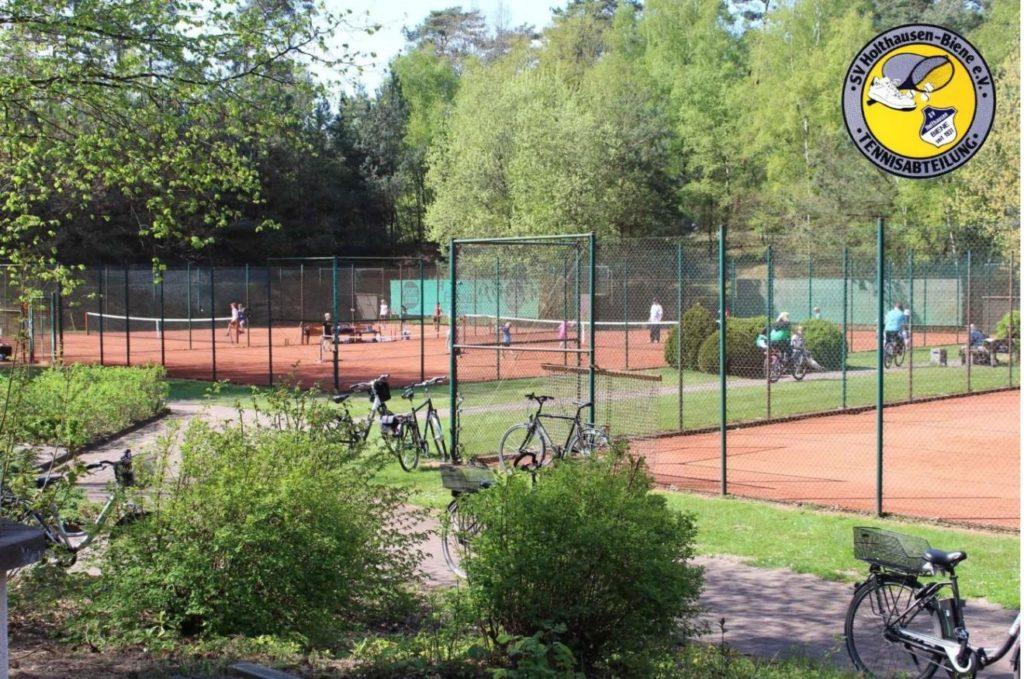 Tennis spielen beim SV Holthausen-Biene
