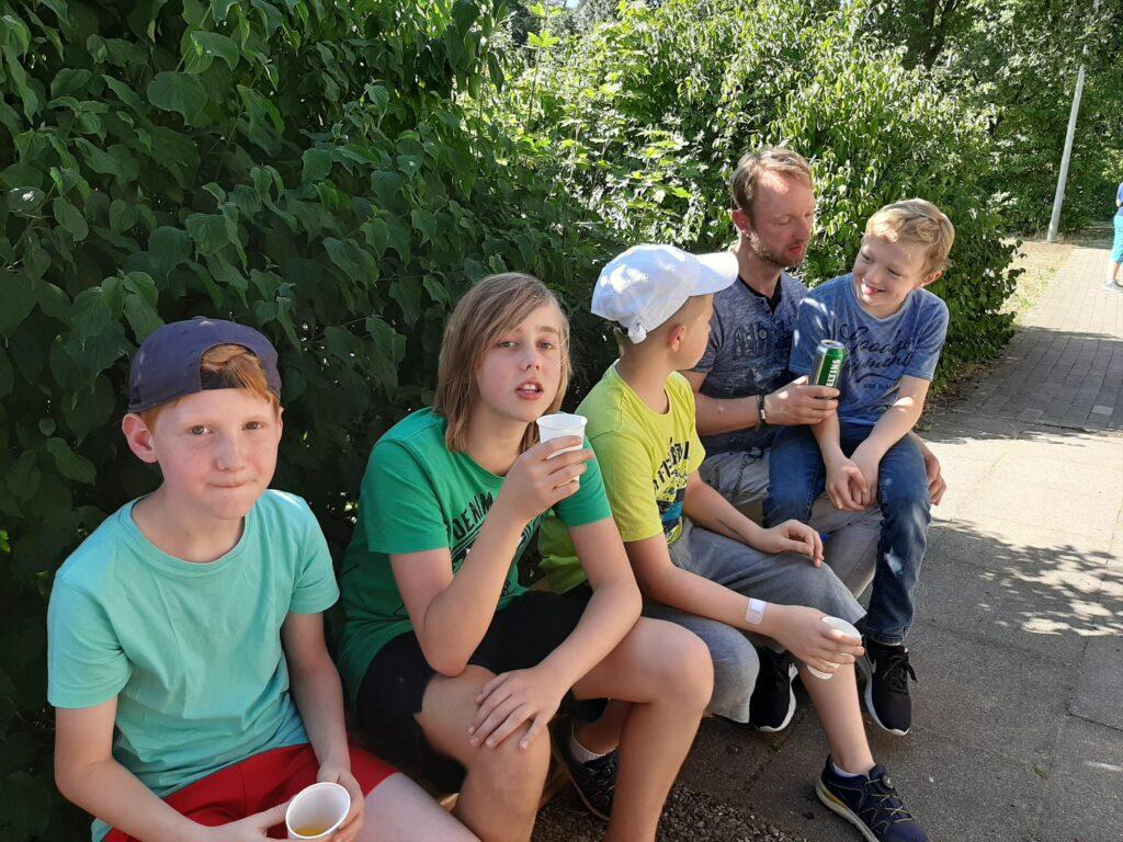 Sommerparty von der Judo Abteilung des SV Holthausen-Biene