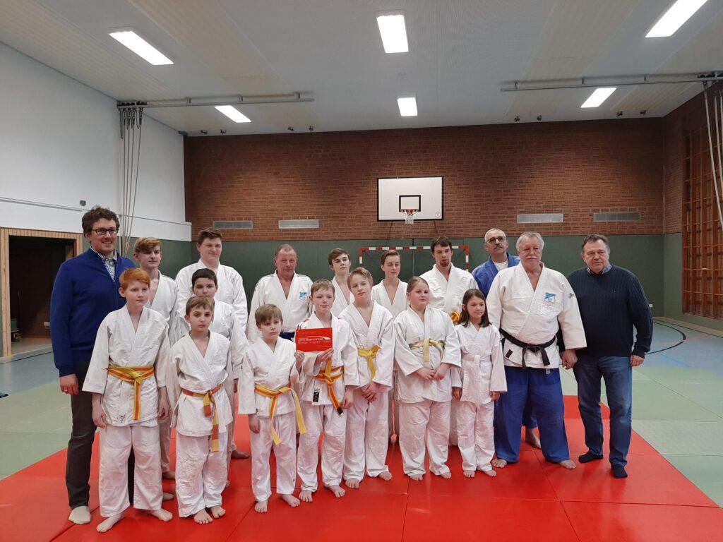 Judo trainieren beim SV Holthausen-Biene
